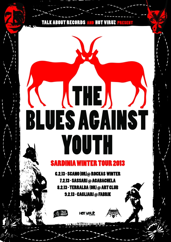 THE BLUES AGAINST YOUTH SARDINIA WINTER TOUR